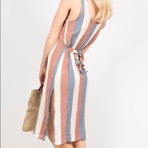 NWT Free People Zulu and Zephyr Ribbon Dress